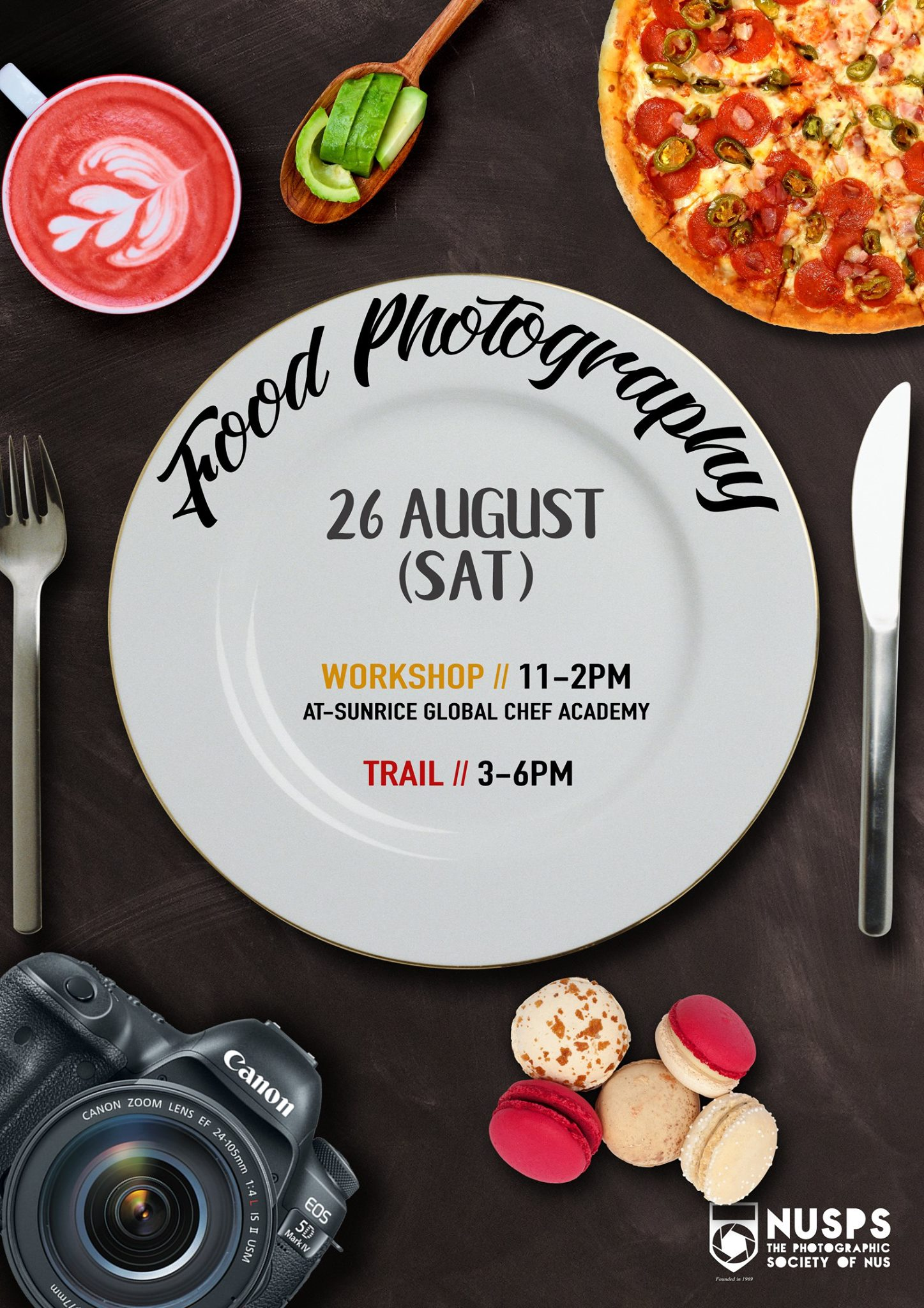 Food Photography Workshop and Trail 2017