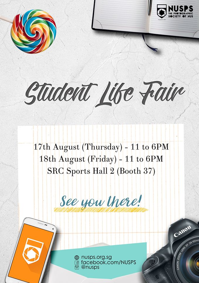 NUS Student Life Fair 2017