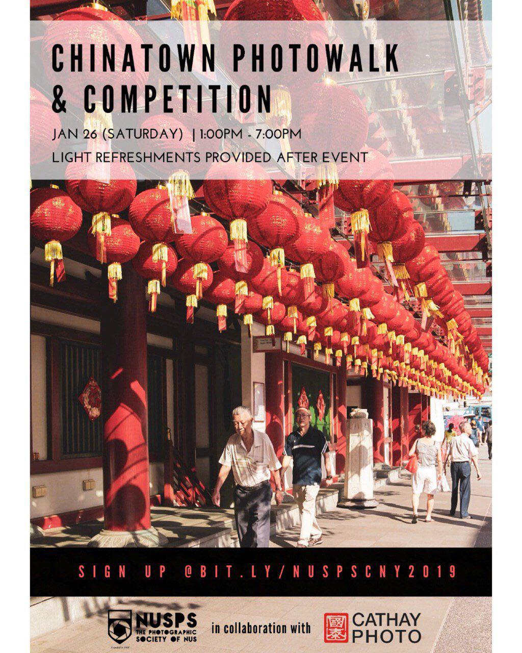 Chinese New Year Photowalk and Competition 2019
