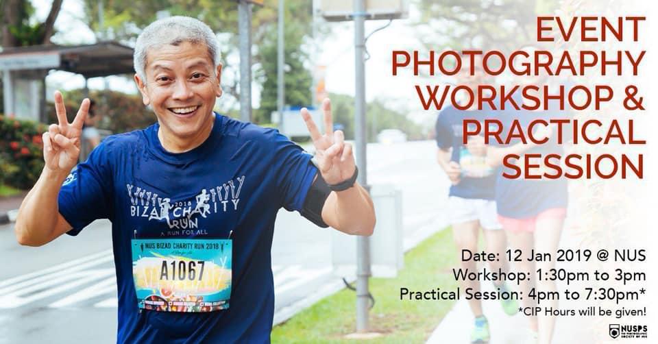 Event Photography Workshop 2019