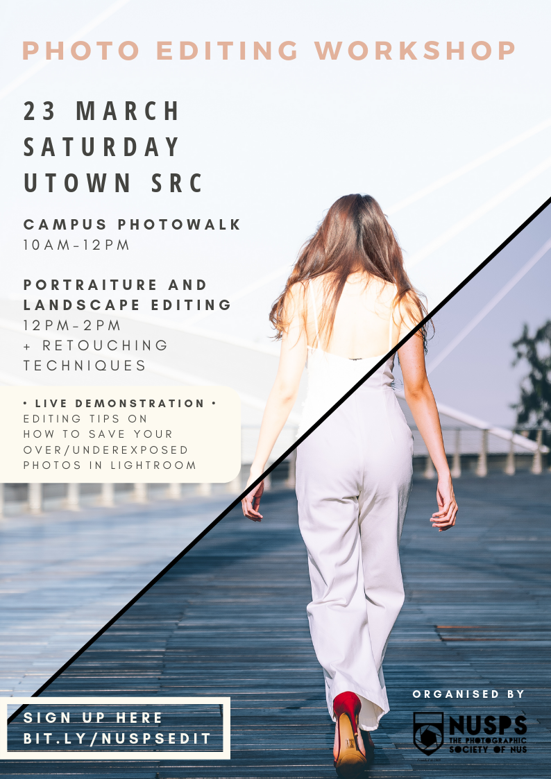 Photo Editing Workshop 2019