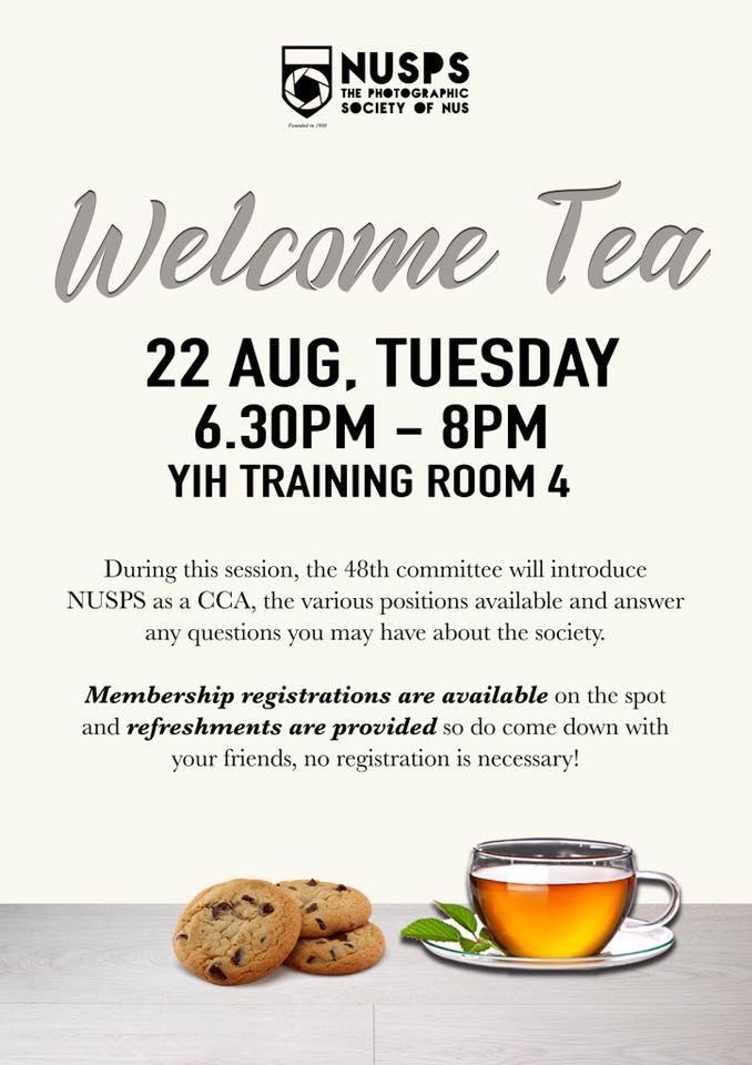 Welcome Tea 2017