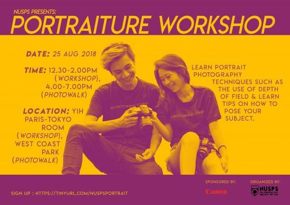 Portraiture Workshop & Photowalk 2018