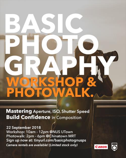 Basic Photography Workshop 2018