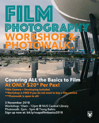 Film Photography Workshop 2018