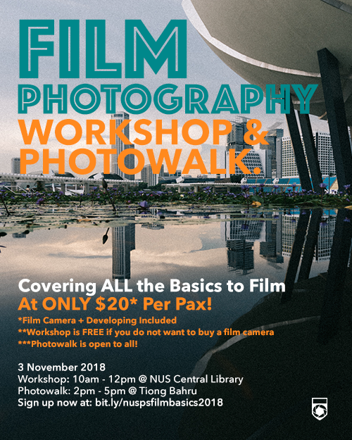 Film Photography Workshop 2018