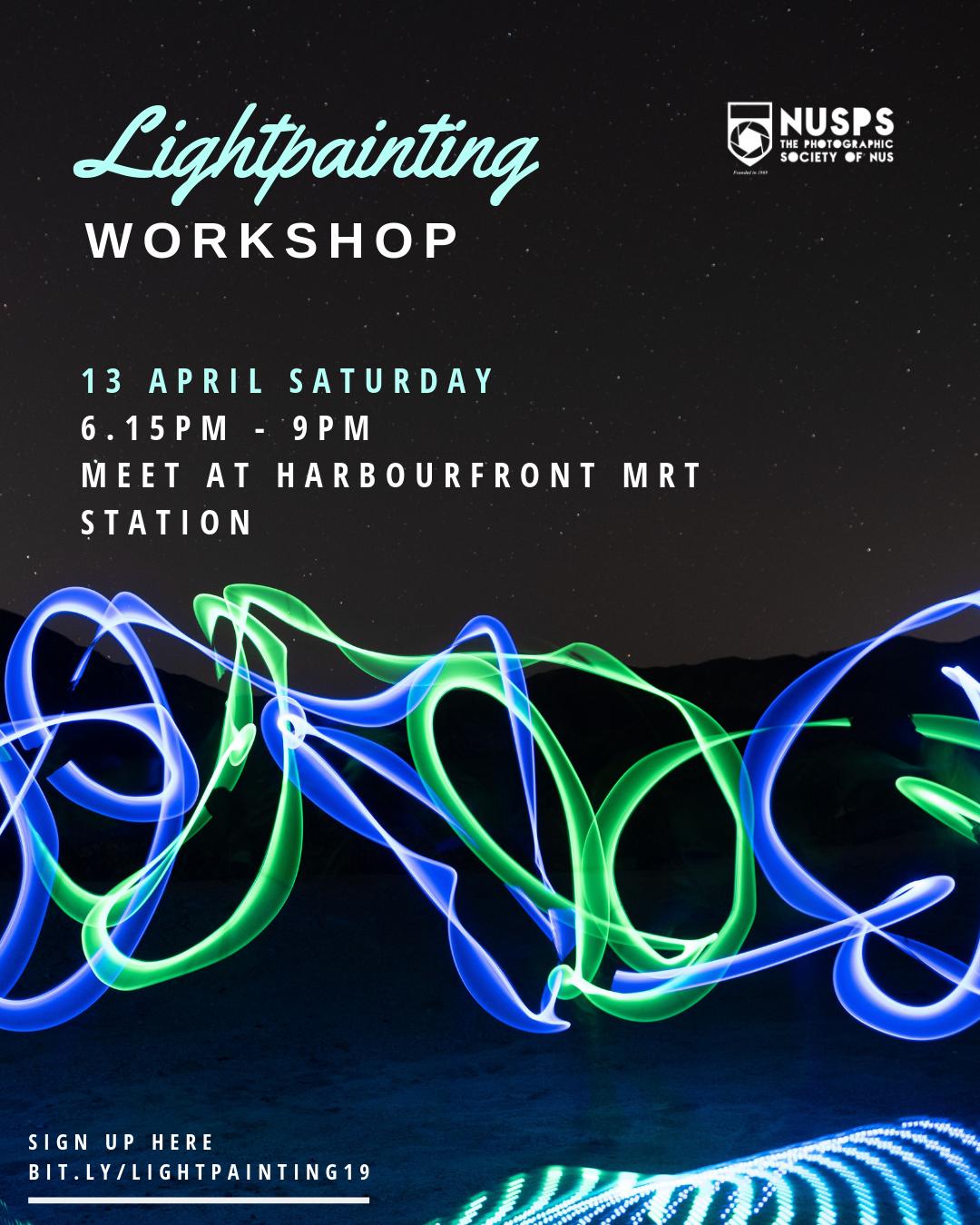 Light Painting Workshop 2019