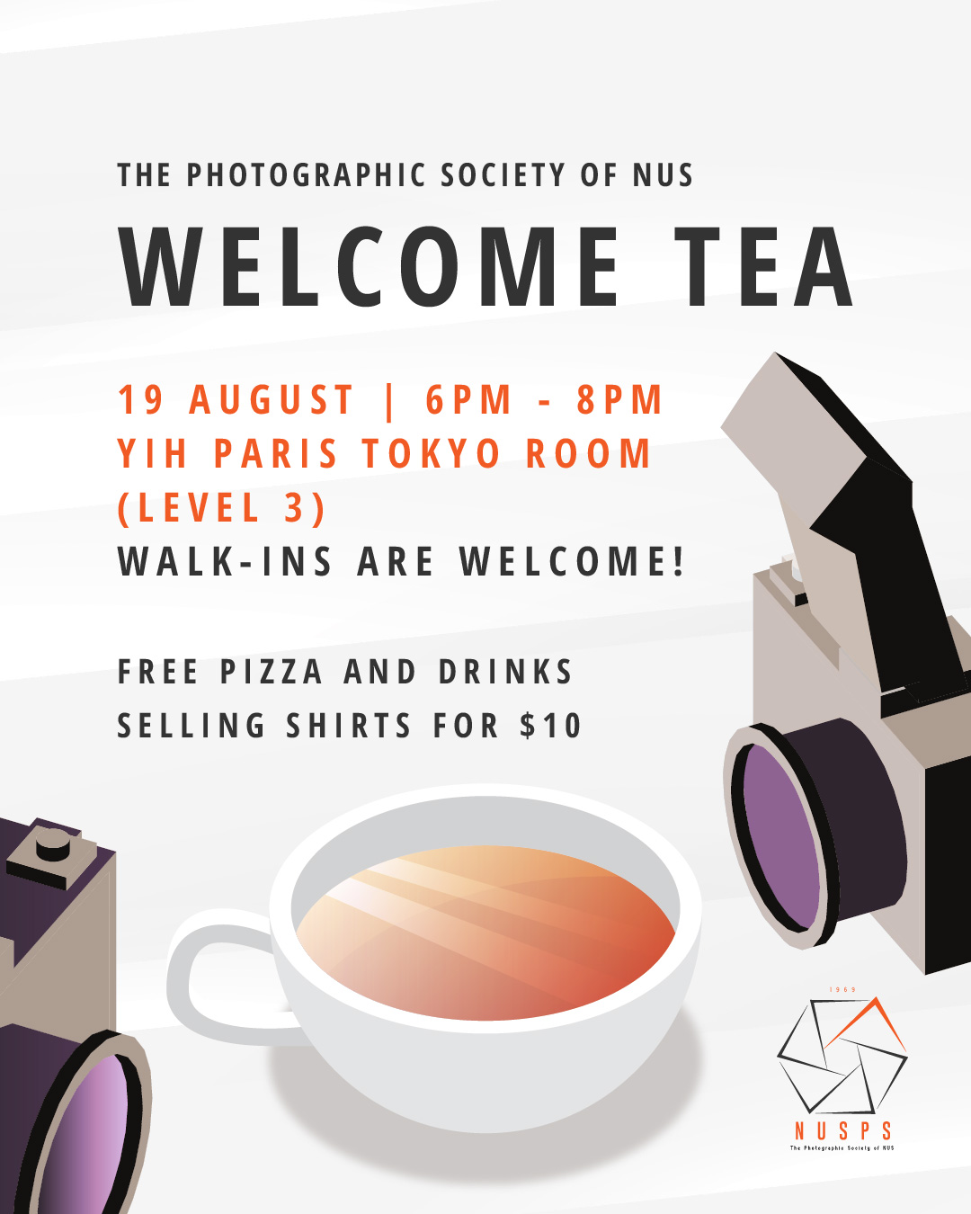 Welcome Tea 2019