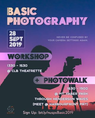 Basic Photography Workshop 2019