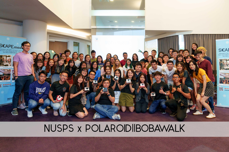 Highlights: NUSPS X POLAROID Bobawalk