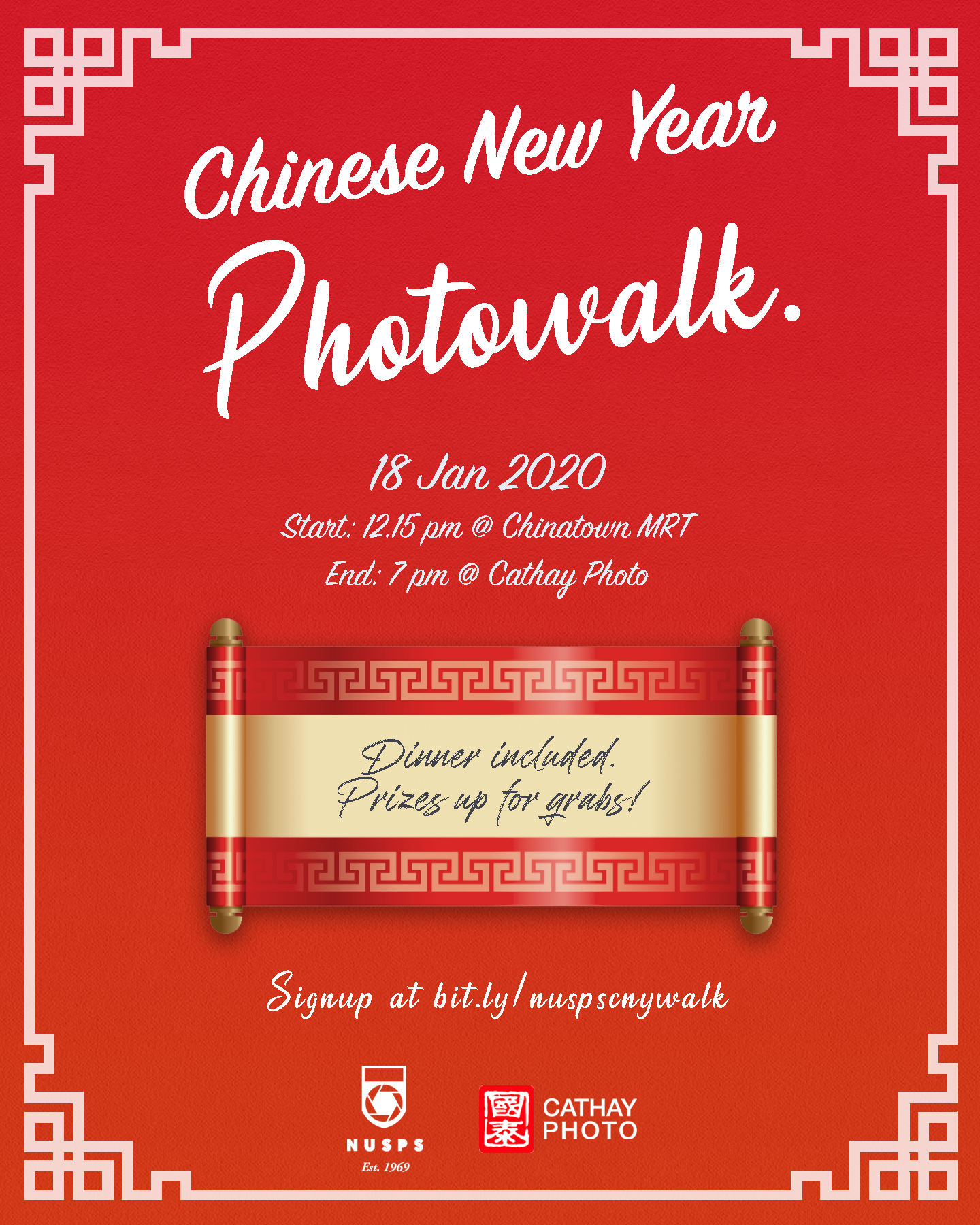 Chinese New Year Photowalk and Competition 2020