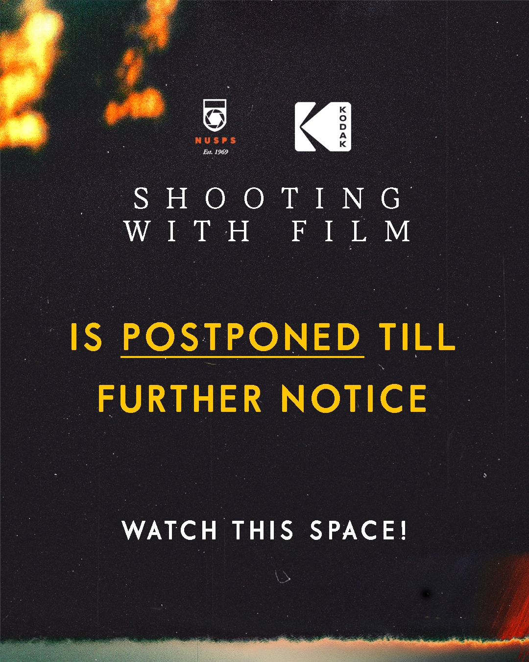 Film Workshop 2020 (Postponed)