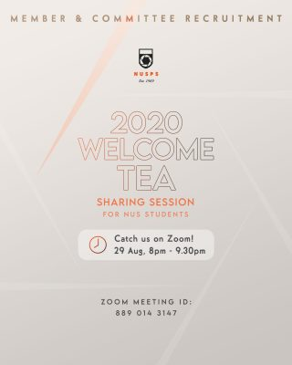 Welcome Tea 2020