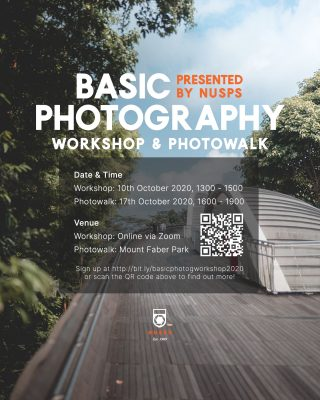 Basic Photography Workshop and Photowalk 2020