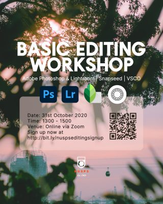 Basic Editing Workshop 2020