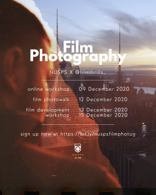 Film Photography Workshop and Photowalk 2020