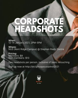 CORPORATE HEADSHOT SERVICE 2021